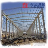 ヨーロッパの軽いプレハブの鉄骨構造の倉庫