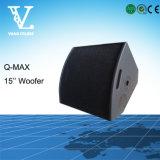 Q-Maximaler Berufsmonitor für Stadium 15 '' Woofer koaxial