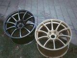 Borda de alumínio da roda da liga de um Advan de 18 polegadas para Toyota Nissan Honda KIA Hyundai Peugeot e outros carros de passageiro