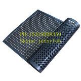 Половой коврик кухни Anti-Fatigue кухни Beveled резиновый с отверстием
