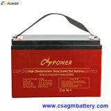 Bateria de alta temperatura 12V100ah do gel do armazenamento da potência