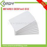 ISOのカードMIFARE DESFire EV2 2K 4K 8KブランクPVCチップカード