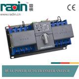 Cambiamento di piccola dimensione automatico/manuale di risparmio di potere degli interruttori 3p/4p 63A di trasferimento del generatore sopra gli interruttori per il generatore Ganset
