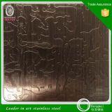 201 304 Spiegel-Ende-Bronzen-Farben-Edelstahl-Blatt