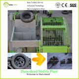 이용된 기계 단 하나 샤프트 슈레더를 재생하는 플라스틱 깔판을%s