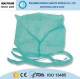 Doutor sobre não tecido descartável Tampão da segurança com laço