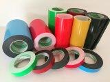赤い青緑およびカラーエヴァおよびPEの倍はテープ味方した