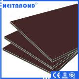 Hoja de aluminio del revestimiento de la pared de PVDF, el panel compuesto de aluminio (ACP)