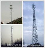 Гальванизировано 3 Legged стальным трубчатым Selfsupporting типам башни связи