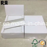 Regelmäßiger doppelter natürlicher arabischer Gummi-langsames brennendes weißes Walzen-Papier der Satz-Prämien-ultra dünner Geldstrafen-100%