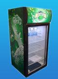 Anzeigen-Schaukasten, aufrechter Schaukasten, Getränkekühlvorrichtung Sc-80L