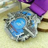 Medaglia d'argento russa placcata argento antico Custom Designed