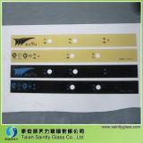 シルクスクリーンの印刷を用いる家庭電化製品のための4mm 5mmの緩和されたガラスのパネル