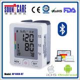 2016 le plus chaud ! ! ! Moniteur de pression sanguine de Bluetooth avec des 90 mémoires (BP60EH-BT)