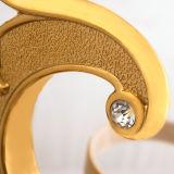 An der Wand befestigter Toiletten-Pinsel-Halter in überzogenem Gold und angestrichen (BaQaB3002-EL-GD)