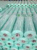 Color verde 750X1500X25um del estiramiento de la película agrícola del abrigo para el mercado de Polonia