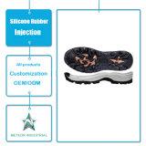 A borracha personalizada das sapatas dos esportes das sapatas ocasionais calç a única modelagem por injeção de borracha