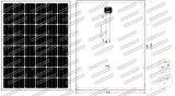 24V mono painel solar 200W - 225W com tolerância de Postive (2017)