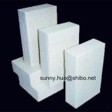 Amortigua el panel de fibras de cerámica del horno, panel de fibras de cerámica del alúmina, placa de la fibra
