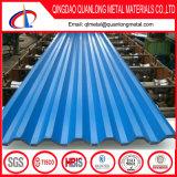Azulejo revestido a cores / Folha de cobertura pré-pintada / Folha de telhado ondulado PPGI