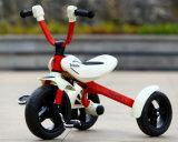 Rit Met drie wielen van het Kind van de Jonge geitjes van China de Nieuwe Model Vouwbare op Auto 3 Speculant