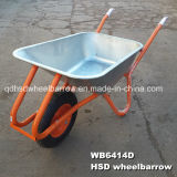 Pneumatic Wheel (WB6414D)の電流を通されたWheelbarrow
