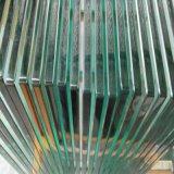gafa de seguridad Tempered clara de 10m m para el carril de cerca