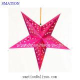 Papel Festival festa de aniversário do Xmas Grande iluminadas Início Estrelas Artesanato Decorações de Natal Luz