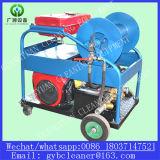 디젤 엔진 고압 세탁기술자 하수구 관 청소 기계