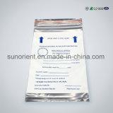 Supportant le sac en plastique de PE de placage d'Alluminum pour A4 Packaginig de papier