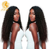 Перуанские волосы девственницы курчавых волос естественные черные перуанские 3 пачки волос Unprocessed выдвижений человеческих волос девственницы перуанских естественных