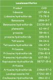 [هي بوريتي] 73-78-9 ليدوكائين [هدروكوريدفور] [أنتي-بين] ليدوكائين [هكل]