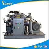 Oxigênio livre do impulso da bomba de impulsionador do oxigênio do pistão do petróleo de alta pressão para os cilindros de enchimento