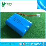 18650 bateria 3.7V 2600 mAh com a bateria de lítio recarregável