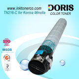 Copiadora de Japão Tomoegawa Tn216 do pó de tonalizador da cor para a máquina da fotocopiadora de Konica Minolta Bizhub C220 C280 C360