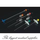Anesthésie extradurale jetable: aiguille épinière / aiguilles épidurales