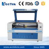 CO2 Laser CNC-hölzerne ledernes Papier-Ausschnitt-acrylsauermaschine für Verkauf 1390