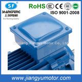 Ie2 Aluminum Asynchronous AC Electrical Three Phase Induction Blower Axial Fan Water Pump Air Compressor Gear Box Motor