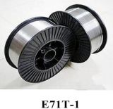 Провод заварки E71t-1 газовой защиты E71t-1 /E71t-1c/E71t-GS вырезанный сердцевина из потоком