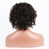 Peruca cheia brasileira do laço do cabelo humano com cabelo do bebê