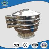 Máquina vibrante circular rotatoria del tamiz de la marca de fábrica SUS304 de Yongqing