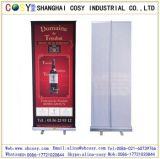 80*200cm promotionnels Alumium enroulent le présentoir de drapeau pour la publicité