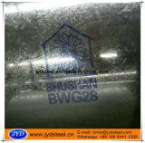 Bwg 28 galvanizou a bobina/folha de aço para a folha da telhadura