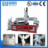 Grande máquina de madeira do router do CNC da gravura da estaca do servo motor do tamanho