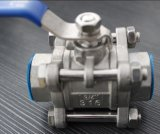Ss304 3PC Threaded Ball Valve NPT (1000WOG)
