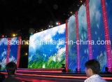 Super dünner druckgegossener Aluminiumstufe P6 LED-Bildschirm