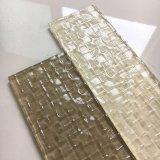 La più nuova arte ha progettato le mattonelle di vetro bianche per la decorazione della parete