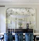 O teste padrão do espelho de vidro 5mm do vintage pode ser espelho personalizado