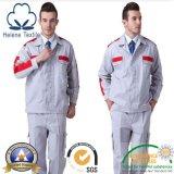 Tela selecionada superior do uniforme/vestuário do trabalho