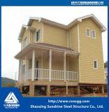 O ISO 9001 Certificated a casa Prefab da construção de aço com Stairway